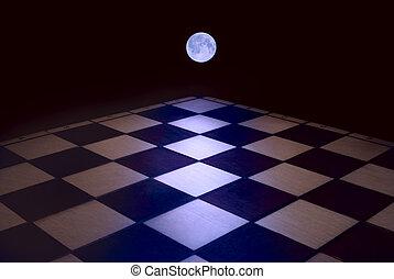 Lunar sonata - In a full moon intellectual activity ...