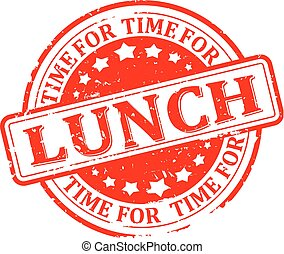 lunch, czas