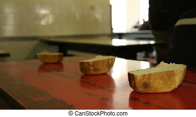 Lunch in the prison canteen. - Prisoners and convicted...