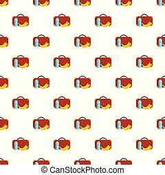 Lunchtime pattern seamless vector