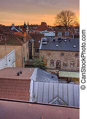 Lund roofs