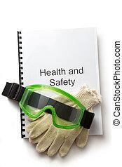 lunettes protectrices, santé, registre, sécurité