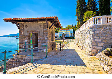 Lungomare coast walkway in Opatija