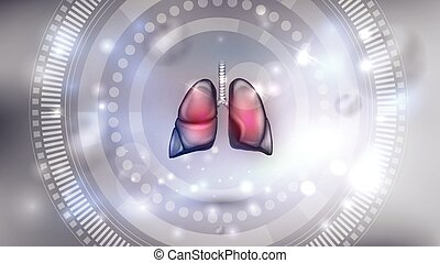 Lungs background