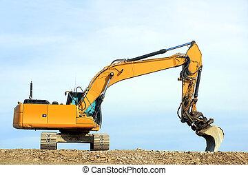 luogo costruzione, dredge