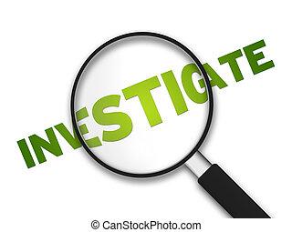 lupa, -, investigar