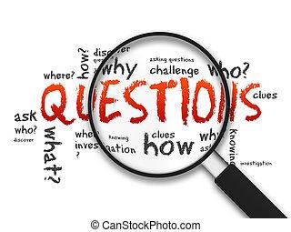 lupa, -, perguntas