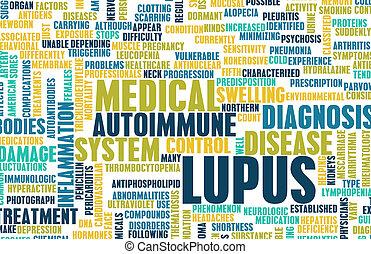 Lupus Disease Concept as a Medical Condition