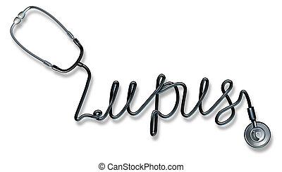 Lupus Disease - Lupus disease medical health care concept as...