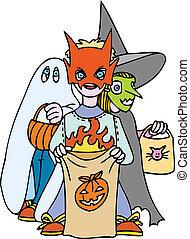 lurar, halloween