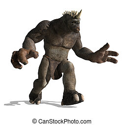 Lurching Troll - A gigantic lurching troll is looking for...