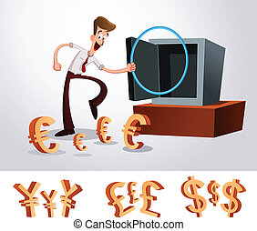 luring money