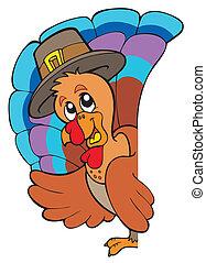 Lurking Thanksgiving turkey