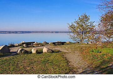 lusatian,  sedlitz, See, Bezirk
