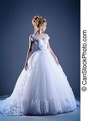 lush wedding dress