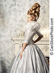 lush white dress