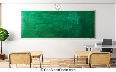 lusso, aula, interno