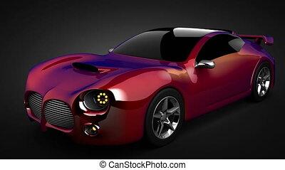 lusso, brandless, sport, automobile