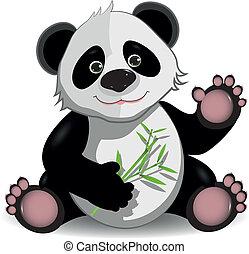 lustiges, panda