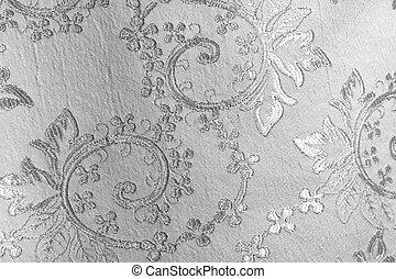 silver fabric - lustrous elegant silver fabric