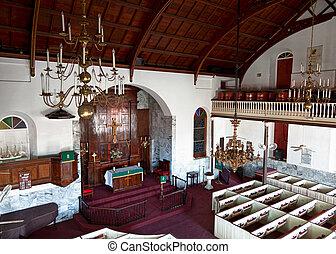 lutheránus, templom, alatt, st thomas