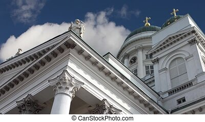 Lutheran Cathedral time lapse - Lutheran Cathedral on Senate...