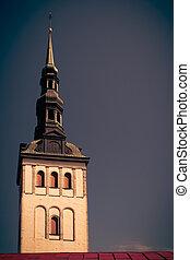 Lutheran St Nicholas Church in Tallinn, Estonia