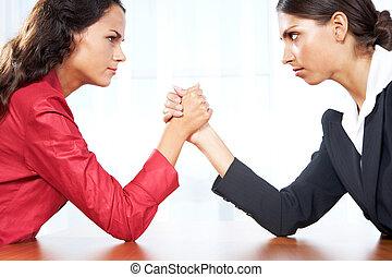 lutte, femmes