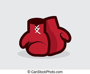 luvas, boxe