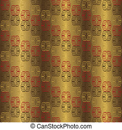 Lux Pattern - Seamless luxury fabric background pattern.
