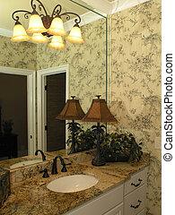 luxe, 1, -, salle bains, 4