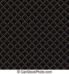 luxe, black , achtergrond., donker, geometrisch, pleinen, model, texture.