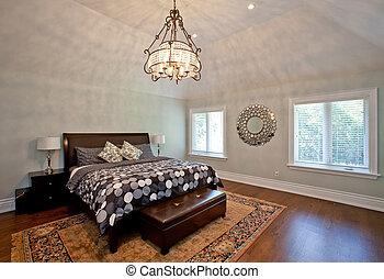 luxe, chambre à coucher