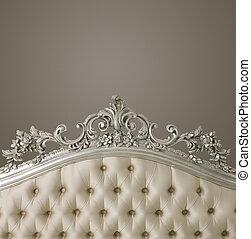 luxe, copyspace, meubel