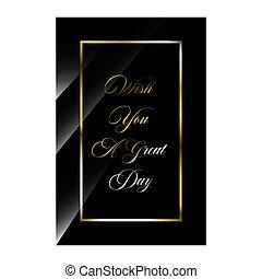 luxe, day., souhait, styles, citation, inspirer, élégant, ...