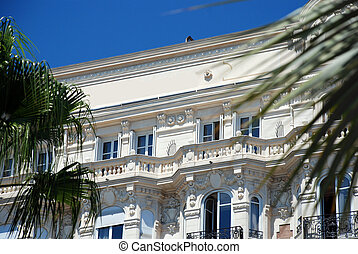 Luxe hotel in the french city of Cannes
