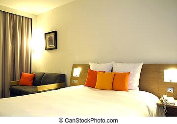 luxe, hotelkamer, casablanca, marocco