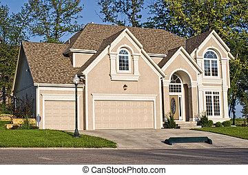 luxe, maison modèle