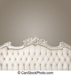 luxe, meubel, met, copyspace