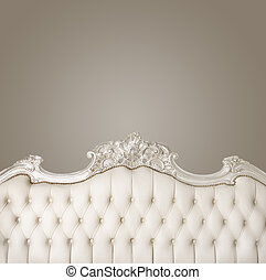 luxe, meubles, à, copyspace