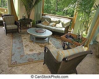luxe, patio, 1, -, 6