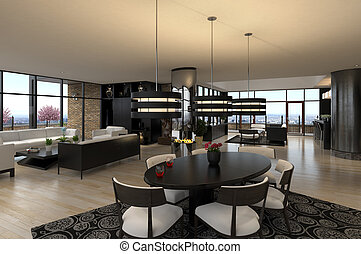 luxe, penthouse