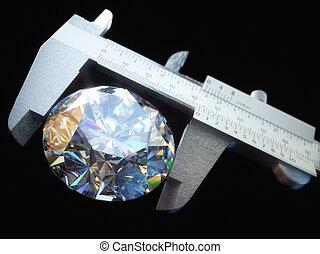 luxe, rijkdom, reus, edelsteen, diamant