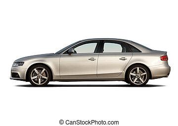 luxe, zakelijk, auto