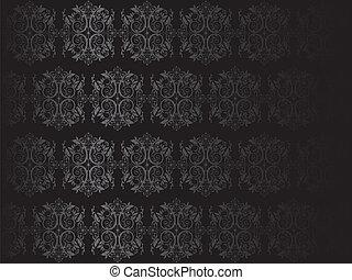 luxe, zwarte achtergrond, vector