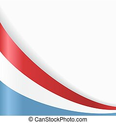 Luxembourg flag background. Vector illustration.