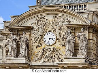 Luxembourg garden clock