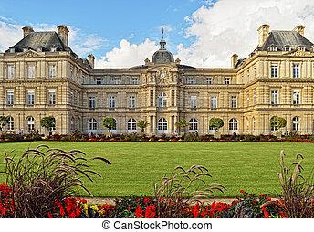 Luxembourg Palace, Paris.