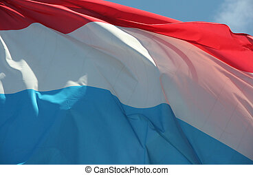 luxemburg, fahne
