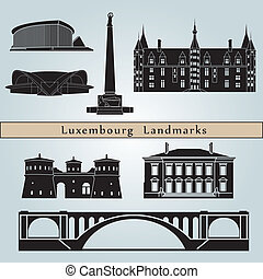 Luxemburg Landmarks - Luxembourg landmarks and monuments...